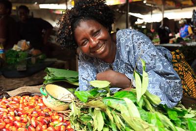 Click here to buy at Alamy. Keywords: Africa Calabar Cross River Nigeria Old Watt Market MyID: 09AZa5404
