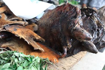 09AZa5390 Africa Agouti Butcher Calabar Nigeria Watt Market