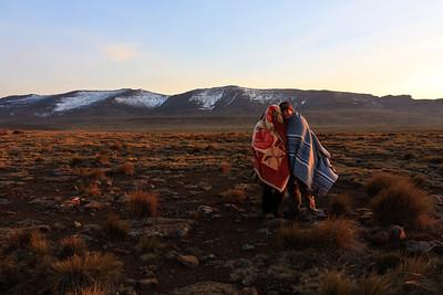 09AZa10720 Africa Lesotho Lu Barnham Sani Lu Barnham Dawn