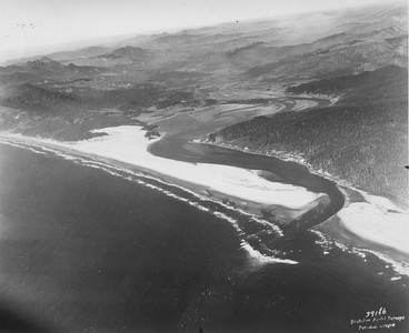 Nehalem Bay State Park, including the air strip, was originally a sand spit extending five miles south of Manzanita.
