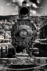 Train 52 Skagway Alaska Copyright 2021 Steve Leimberg UnSeenImages Com _DSC4561 copy