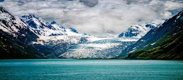 Glacier at Glacier Bay Alaska - Copyright 2020 Steve Leimberg UnSeenImages Com L1230114
