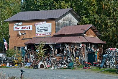 Wal-Mikes, Parks highway, Alaska