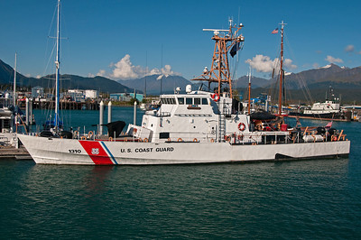 Coast guard Ship, Seward, Alaska