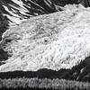 Glacier in Chilkat State Park, Alaska