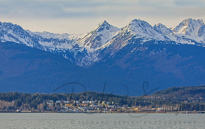 Chilkat Range Over Haines.
