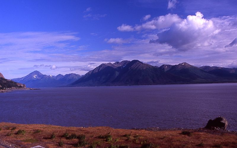 View along Seward Highway