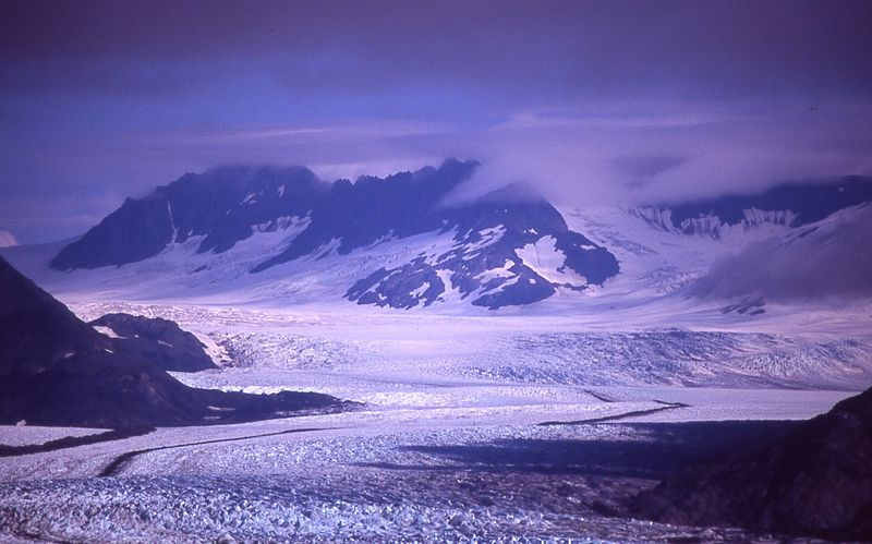 Harding Glacier near Kenai Fiords