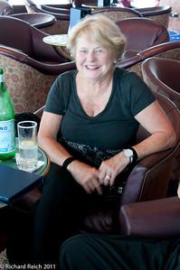 Geri in the Hemisphere lounge