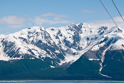 Cruising toward Hubbard Glacier