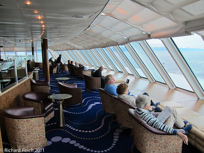 Hemisphere Lounge, 12th floor, Celebrity Century, forward seciion.