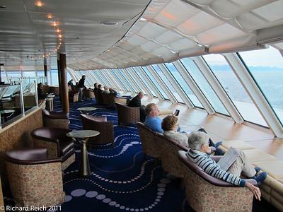 Hemisphere Lounge, 12th floor, Celebrity Century, forward seciion.