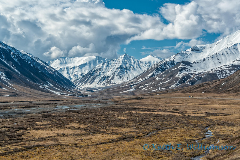 Heading towards Atigun Pass, from the north slope