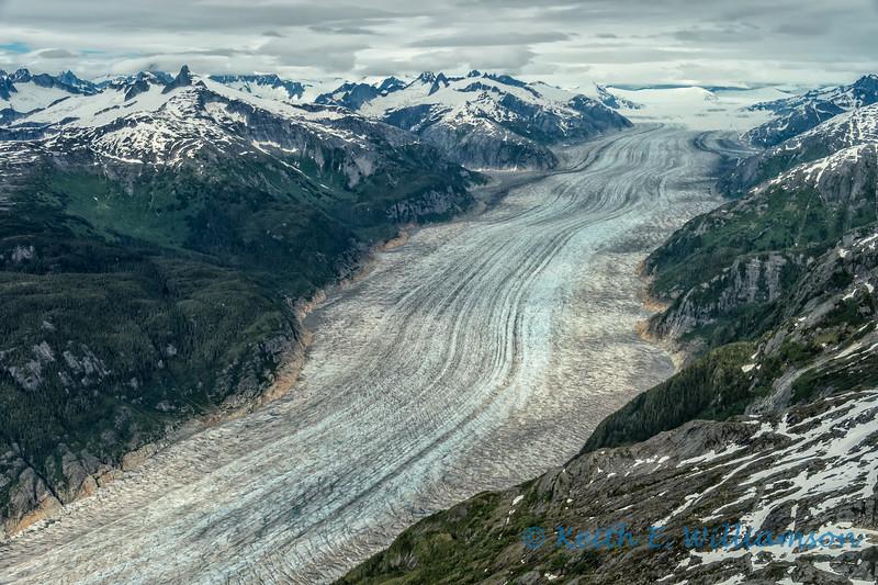 Baird Glacier, coast mountains, near Petersburg