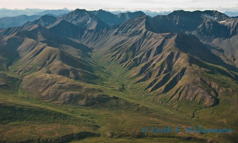 Foothills of the Wrangell-St. Elias mountains