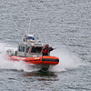 We received a USCG escort as we approached Juneau, AK.
