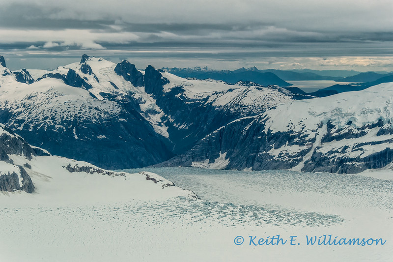 LeConte Glacier, and Coast Range, near Petersburg