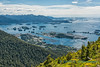 Sitka, Alaska, from Harbor Mountain