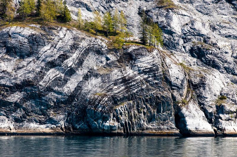 Cliff at Glacier Bay