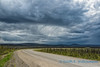 Rain over the Dalton Highway
