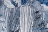 Classic snow flutings, Alaska Range