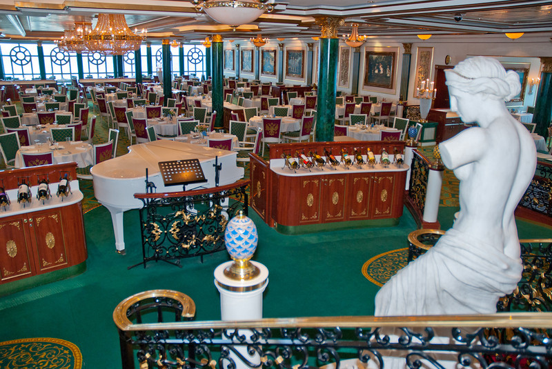 Summer Palace dining room<br /> Norwegian Pearl