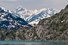 Fairweather Range behind ridges of Glacier Bay
