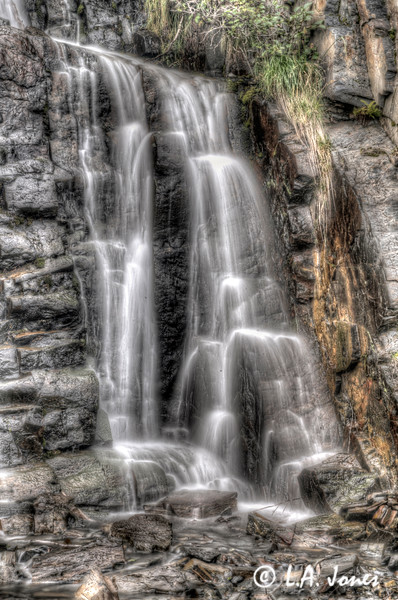 Seward Freeway Waterfall1
