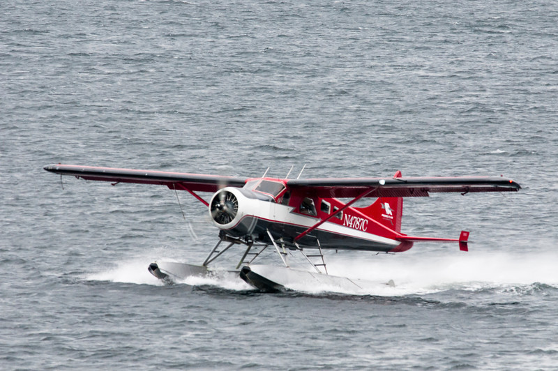 Float planes are a way of life in Alaska.