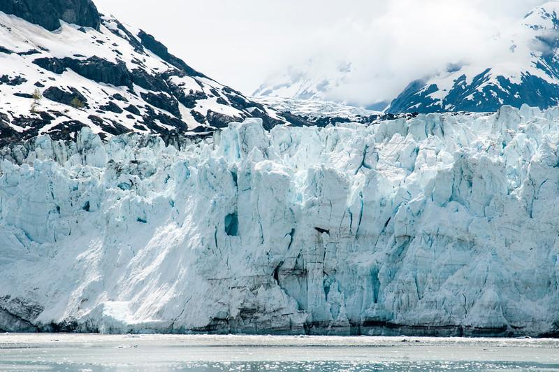 The Grand Pacific Glacier in Glacier Bay National Park, Alaska