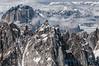 Granite ridges of the Alaska Range, Denali NP