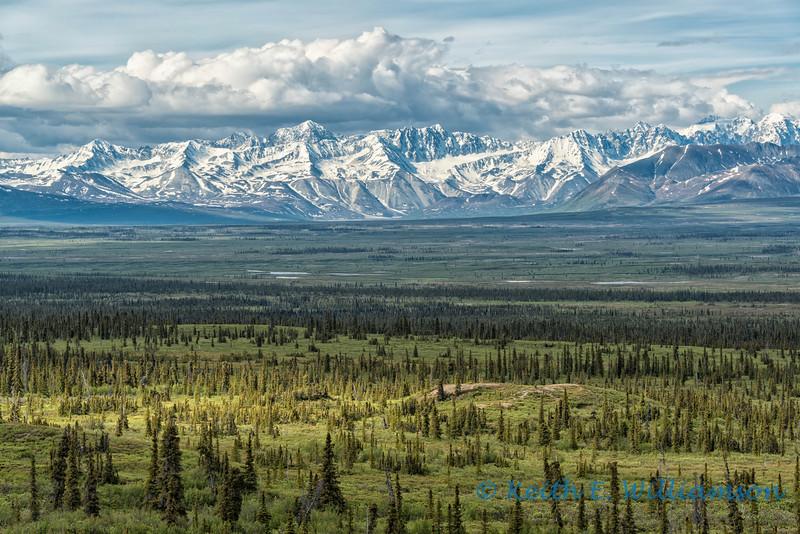 Alaska Range, Denali Highway, Alaska