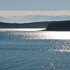 Straits of Juan de Fuca<br /> with Olympic Mountains in Background
