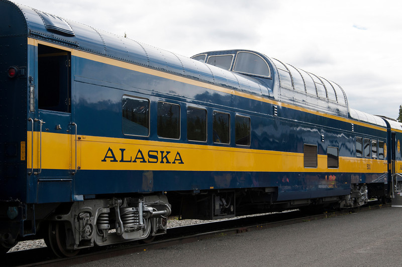 Old style dome car