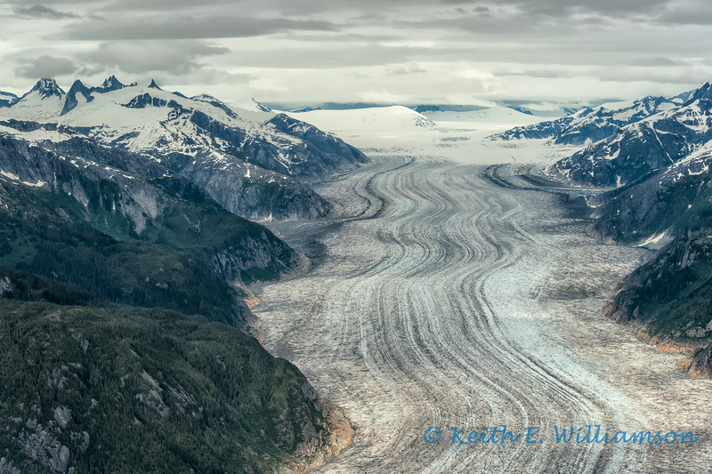 Baird Glacier, coast mountains, near Petersburg