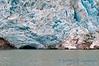 Closeup of Northwestern Glacier, Kenai Fjords NP