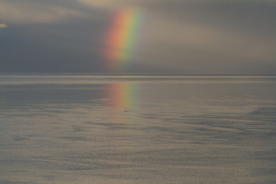Rainbow on Kachemak Bay, Alaska