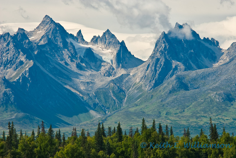 Foothills of the Alaska Range