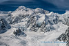 Denali, east buttress in the clouds
