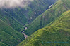 Foothills and stream, Wrangell-St. Elias National Park