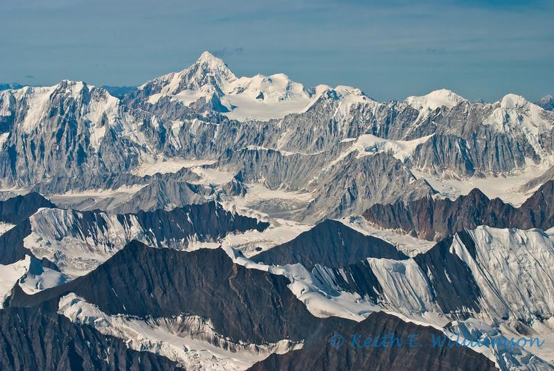 Different rock types of the Alaska Range