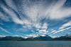 Clouds over Lynn Canal, Alaska