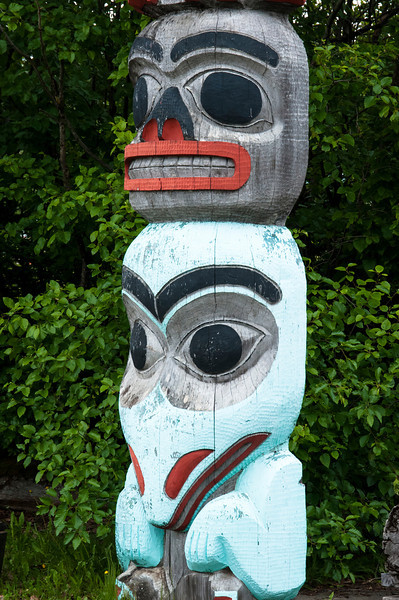 Totem in Haines, AK