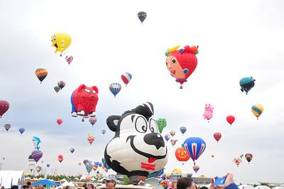 Albuquerque 2014 Hot Air Balloon Festival