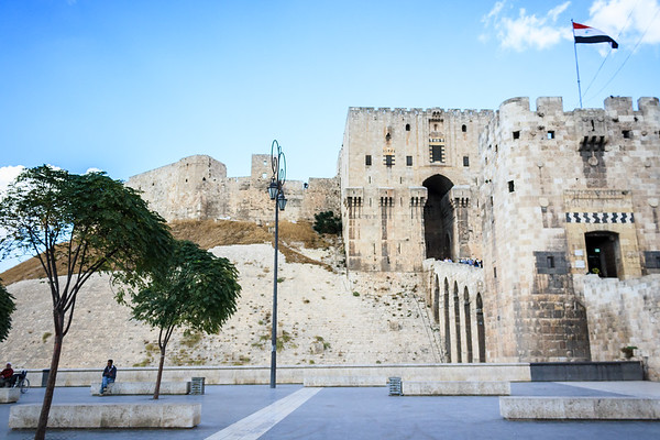Citadel of Aleppo, 2010