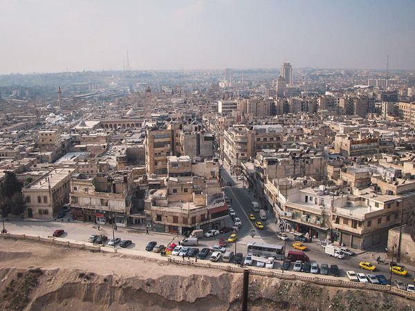 View from Citadel of Aleppo, 2008