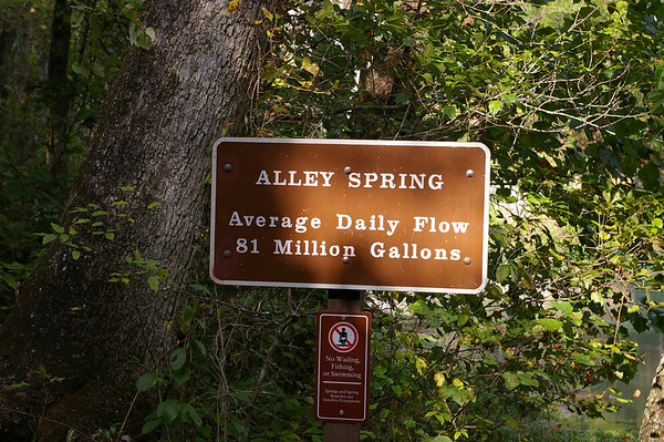 Alley Spring and Mill west of Eminence, Missouri. For more information please go to http://mdc.mo.gov/discover-nature/places-go/natural-areas/alley-spring