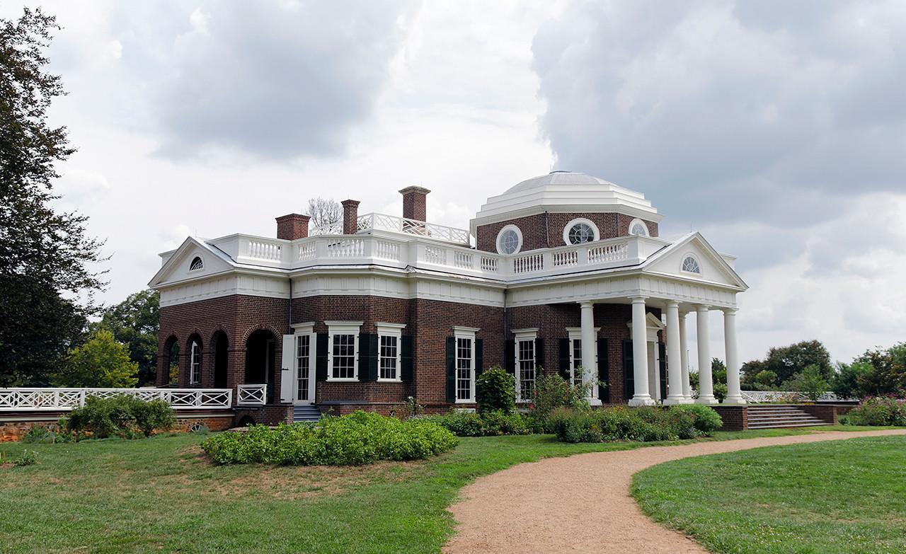 Monticello (rear view)