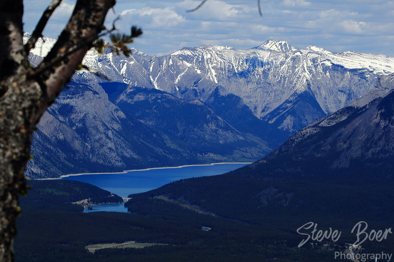 Lake Minnewanka Banff Alberta Landscape Mode