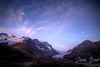 Dawn over Athabasca Glacier